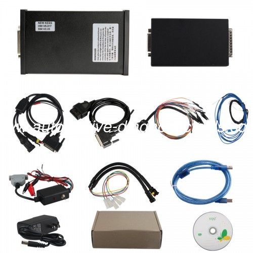 Newest V2.47 KESS V2 V5.017 Auto ECU Programmer Master Version with Reset Button For Both Car and Trucks